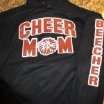 Cheer Mom Glitter
